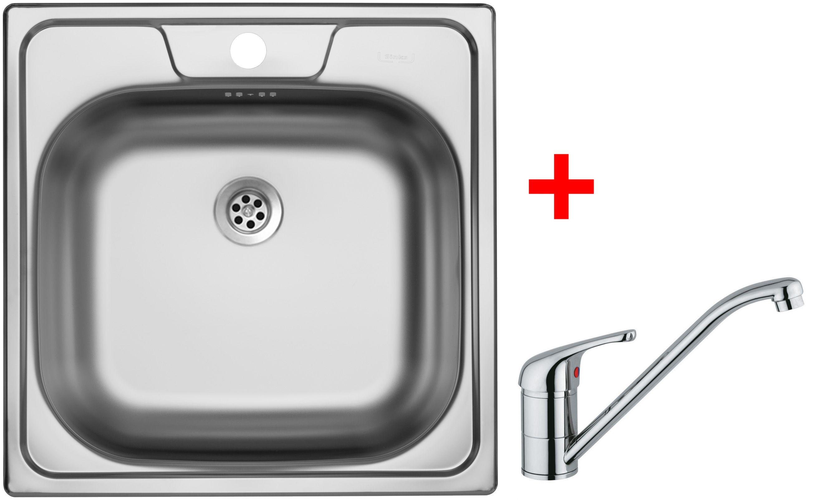 Set Sinks CLASSIC 480 6M+VENTO 4