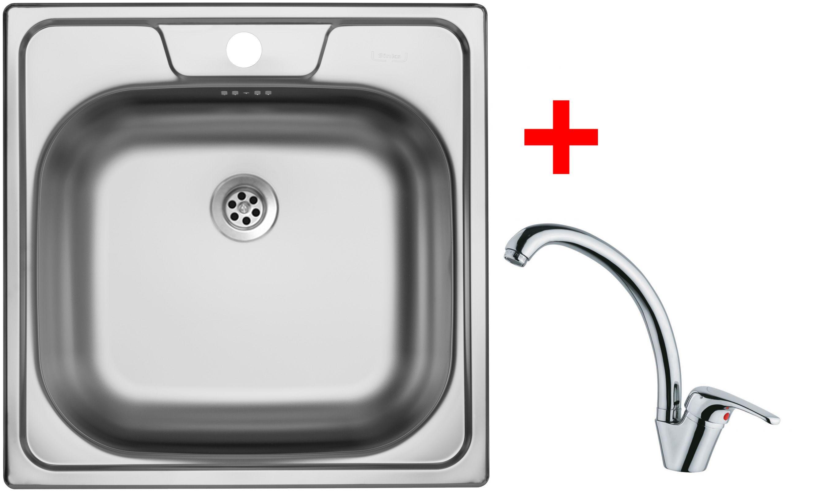 Set Sinks CLASSIC 480 6M+VENTO 55
