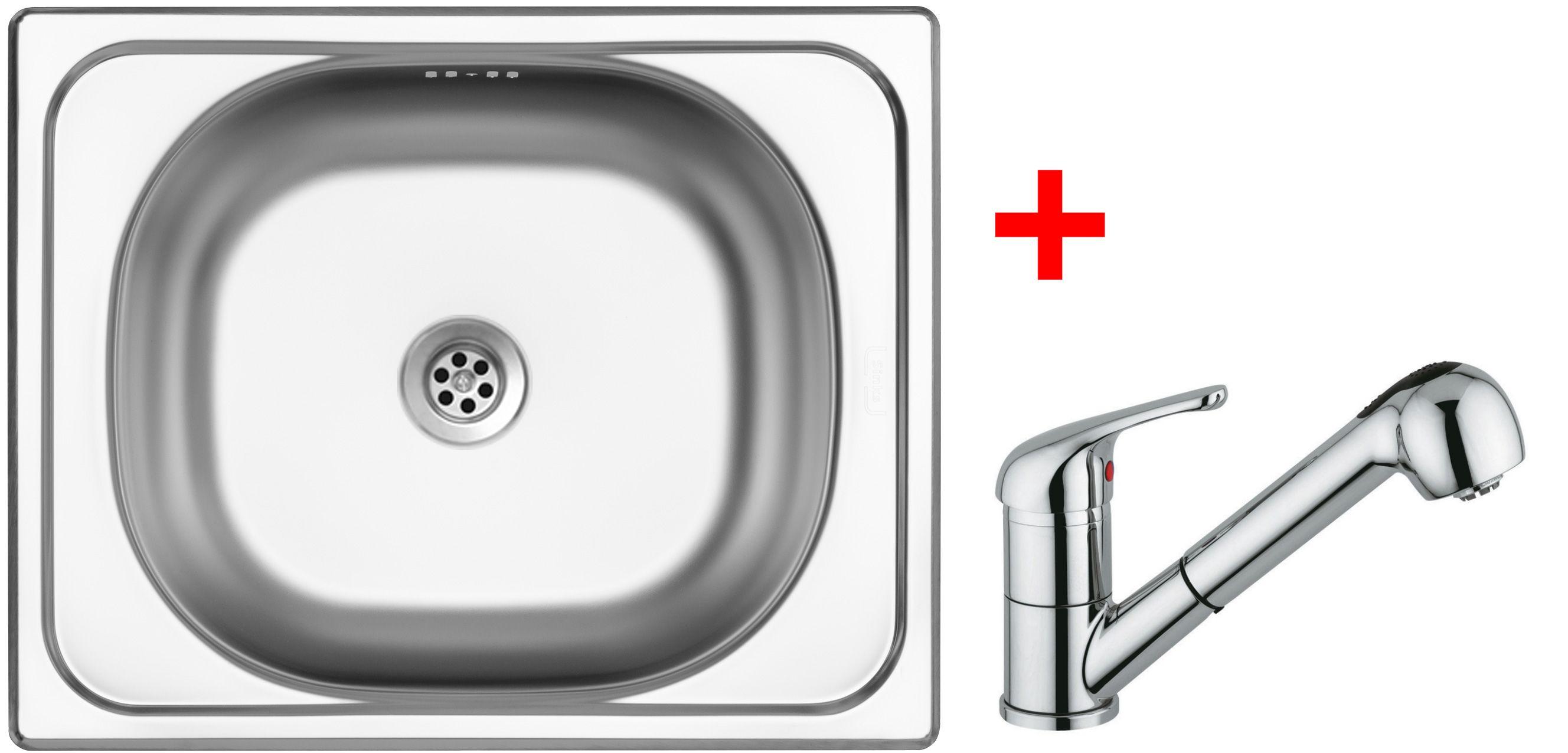 Set Sinks CLASSIC 500 6M+VENTO 4S