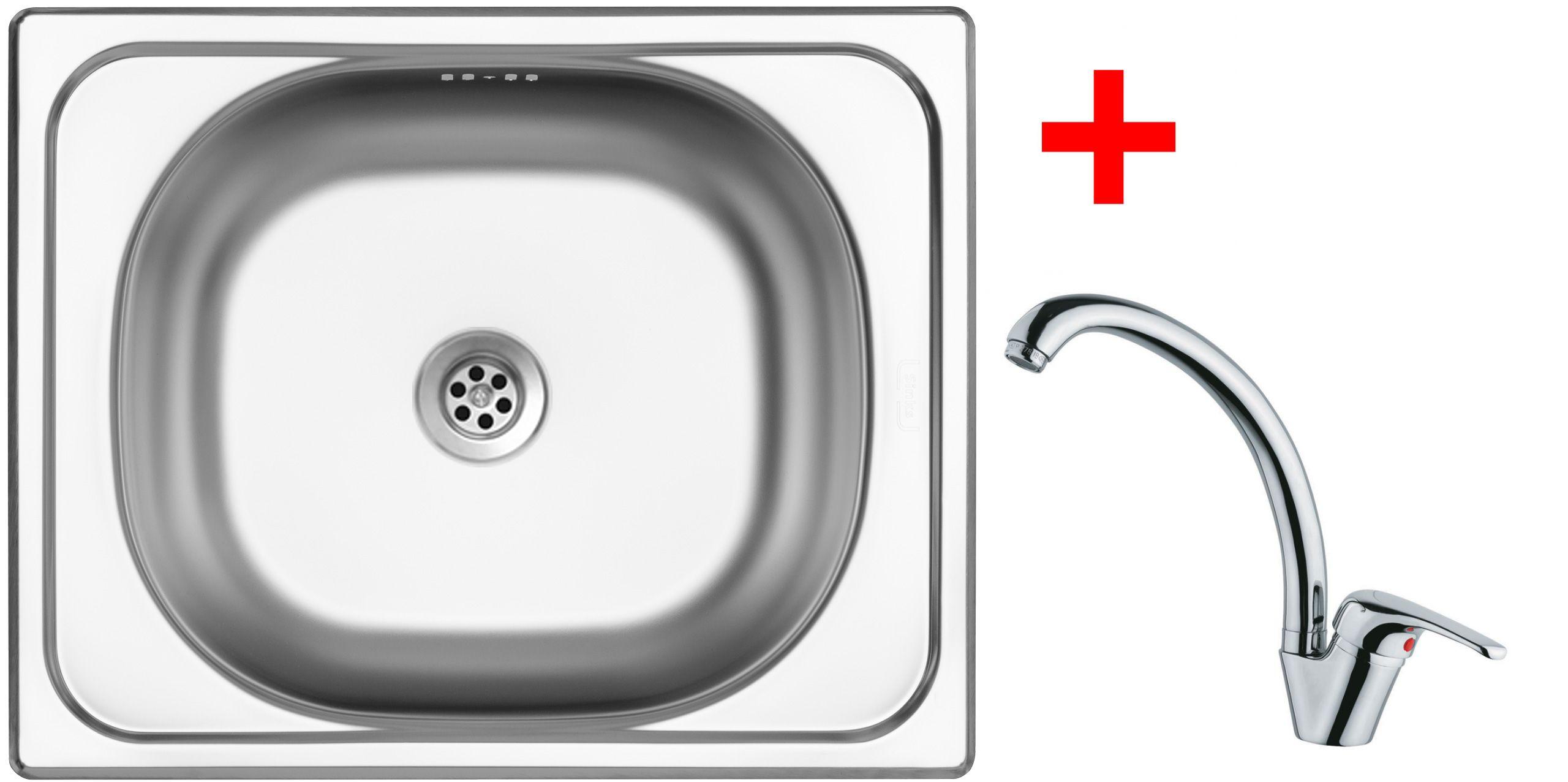 Set Sinks CLASSIC 500 6M+VENTO 55