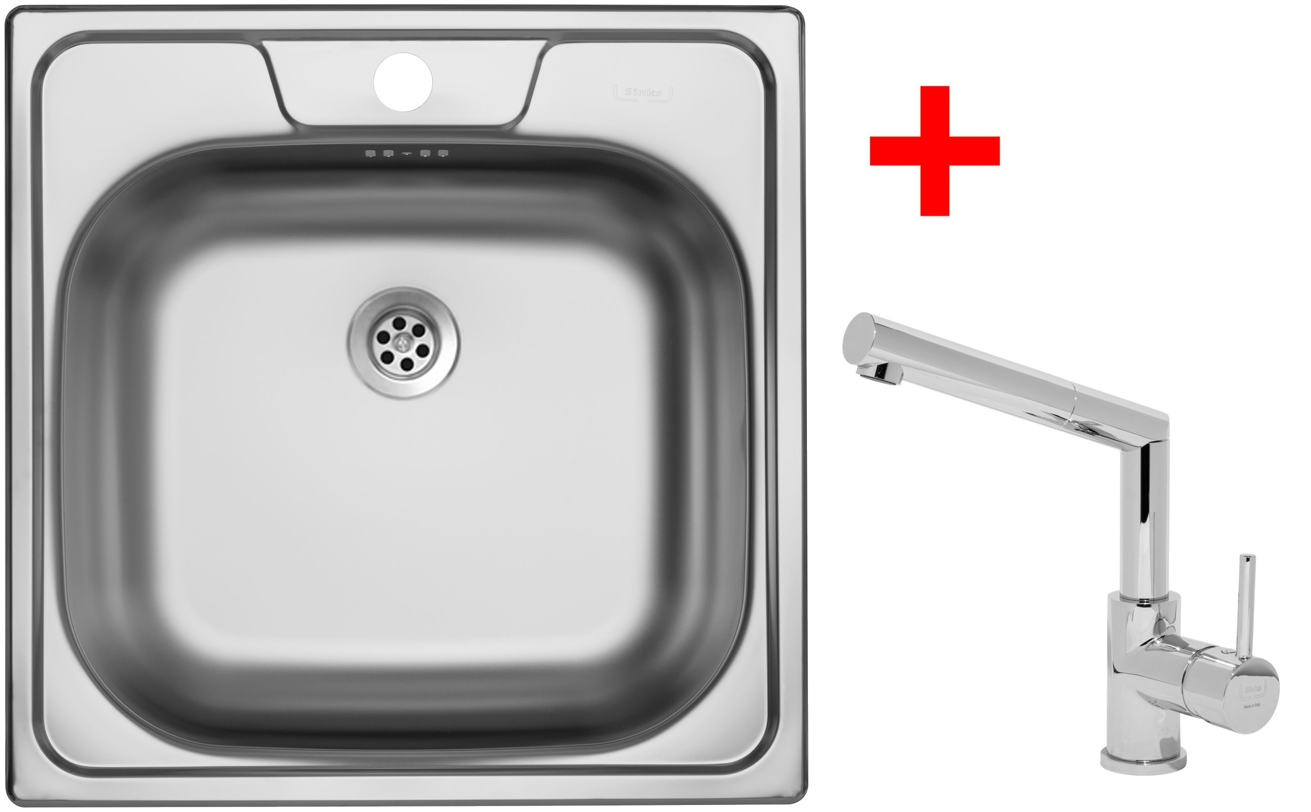 Set Sinks CLASSIC 480 6M+MIX 350P