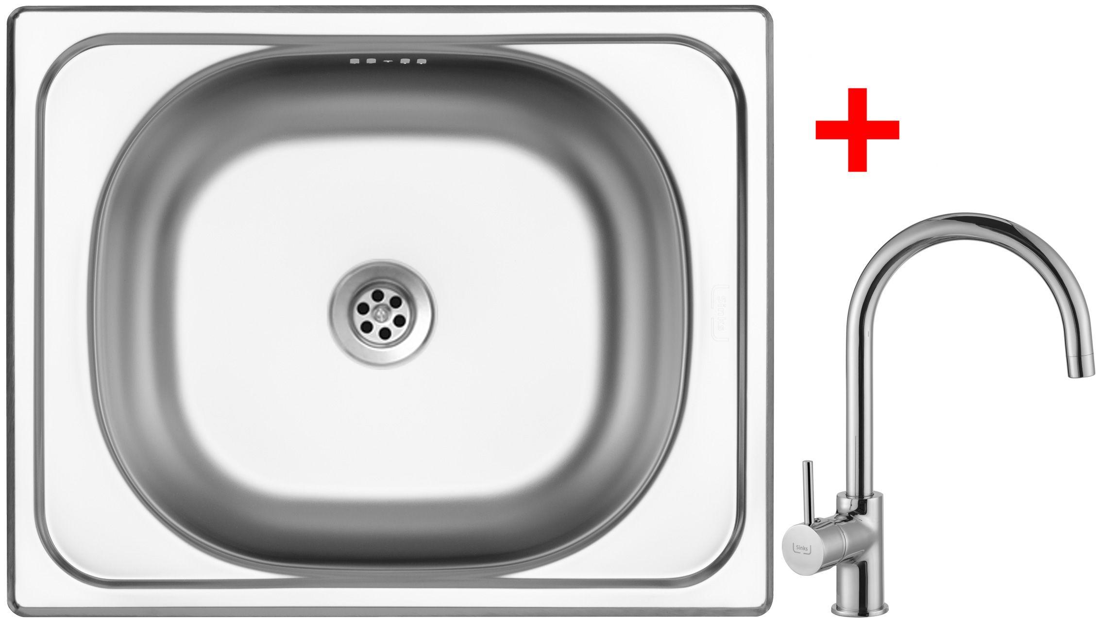 Set Sinks CLASSIC 500 6M+VITALIA