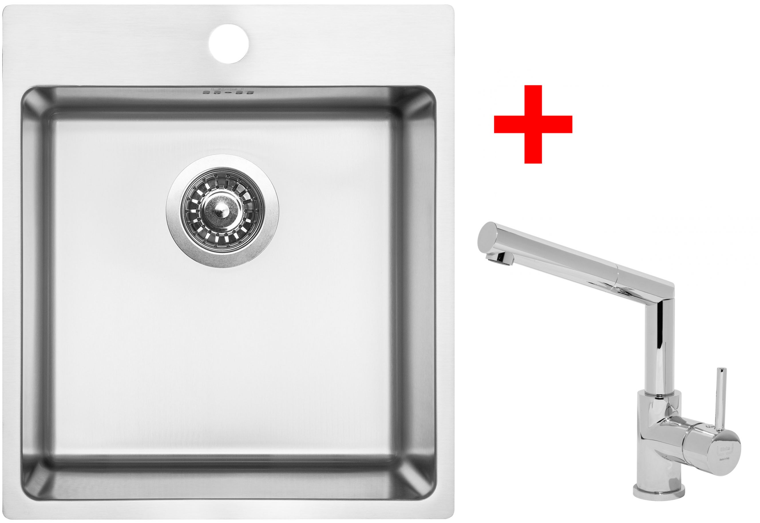 Set Sinks BLOCKER 450+MIX 350 P