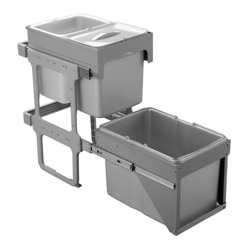 Sinks TANDEM FRONT 40 AU 2x16l+ 1x34l