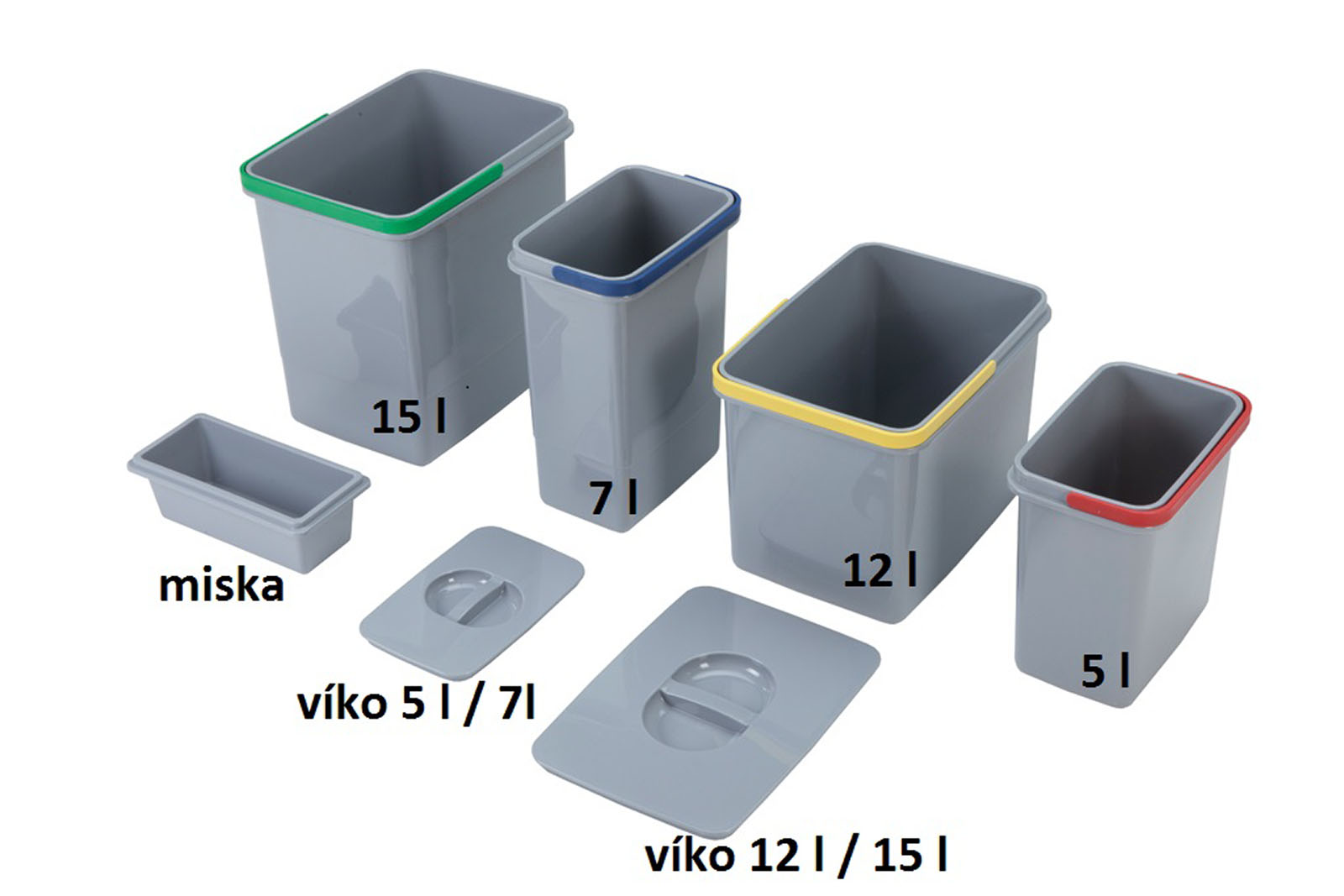 Sinks samostatný koš 15 l