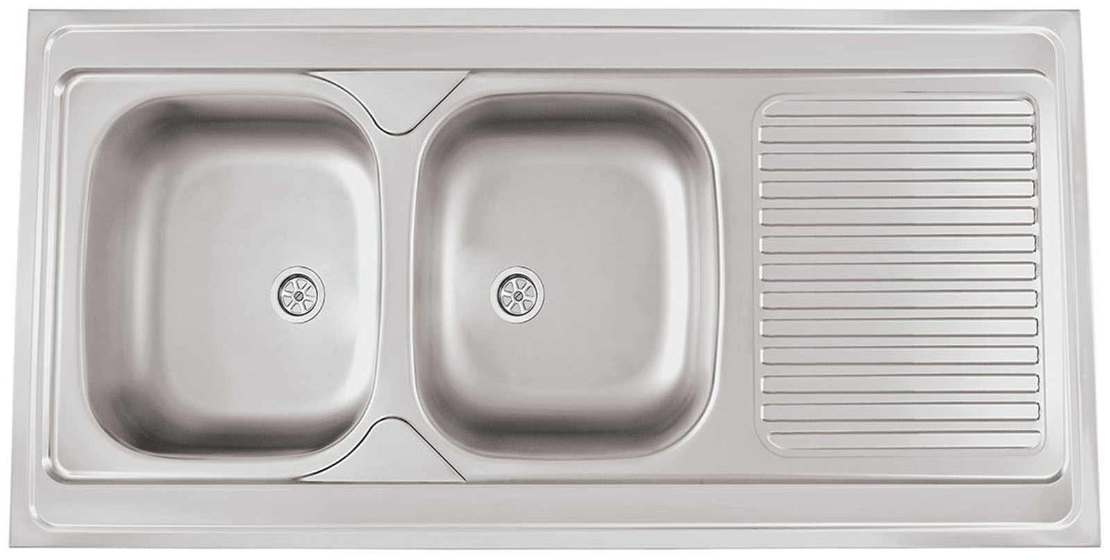 Sinks CLP-A 1200 DUO M 0,6mm matný