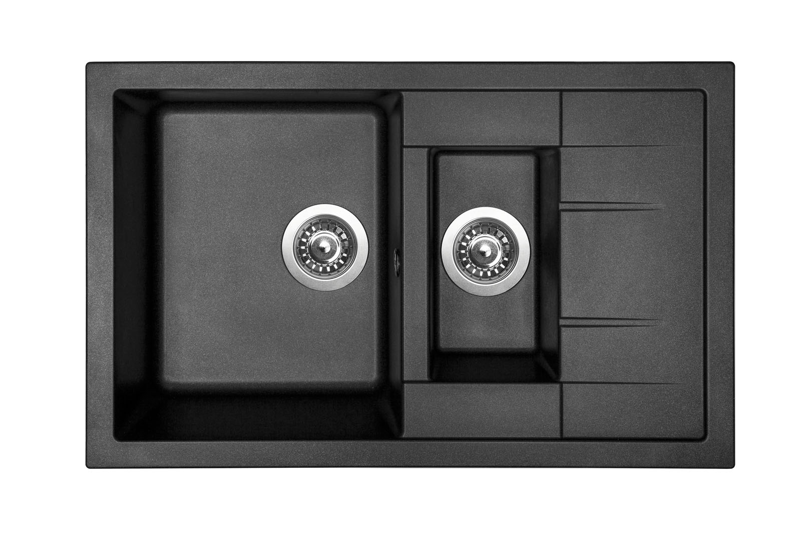Sinks CRYSTAL 780.1 Metalblack