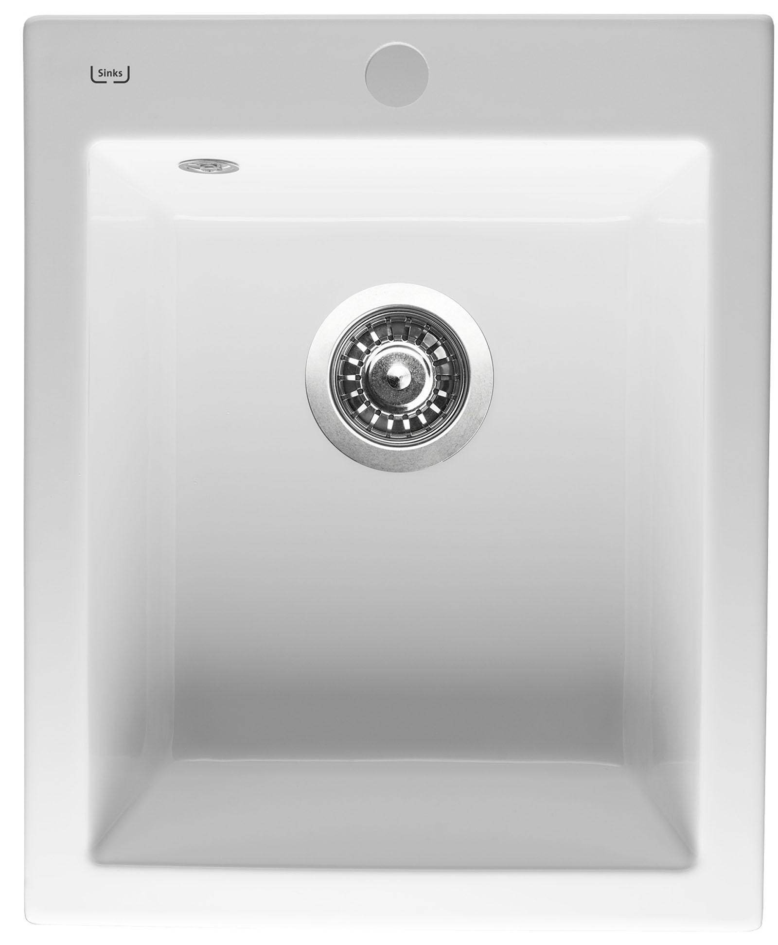 Sinks CERAM 410 Bílá