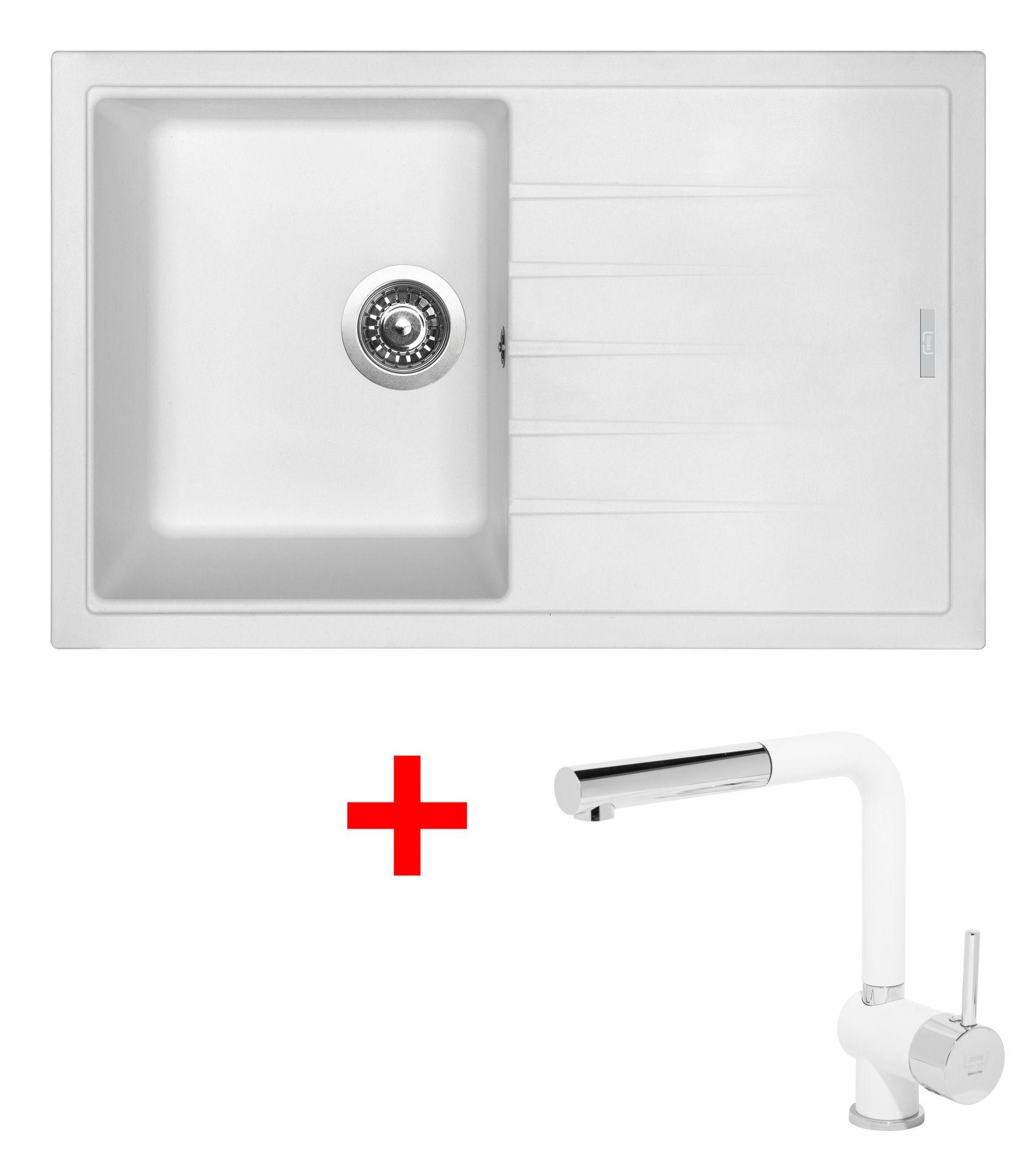 Set Sinks BEST 780 Milk+MIX 3P GR
