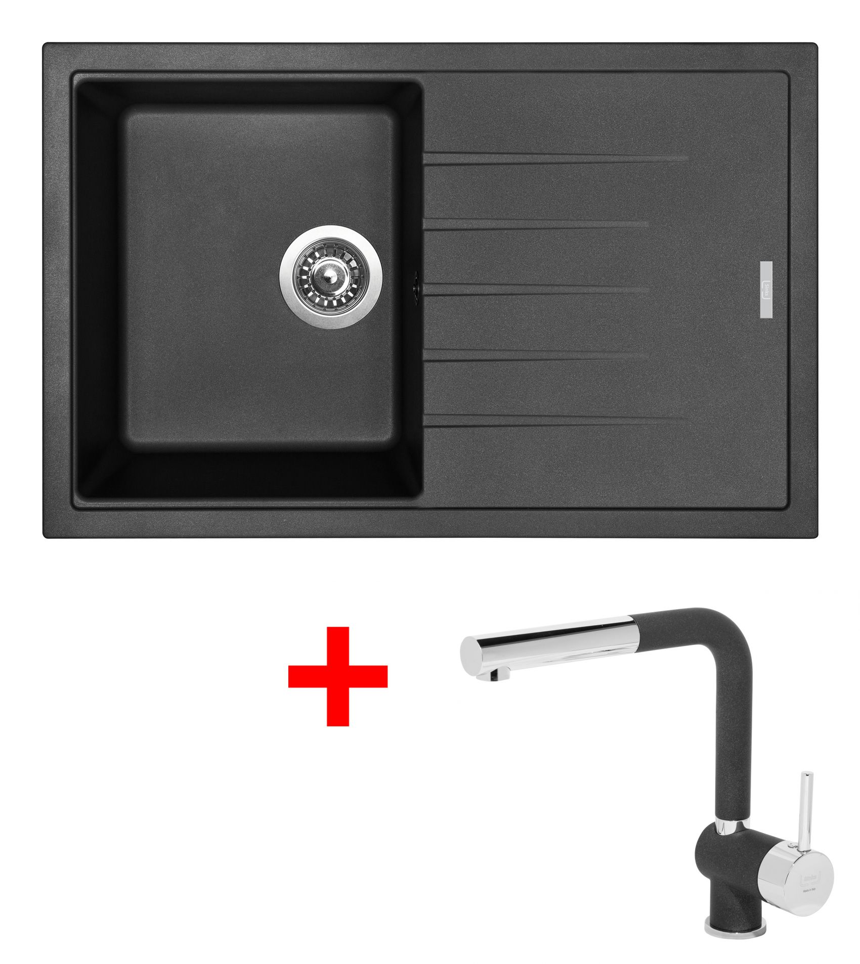 Set Sinks BEST 780 Metalb.+MIX 3P GR
