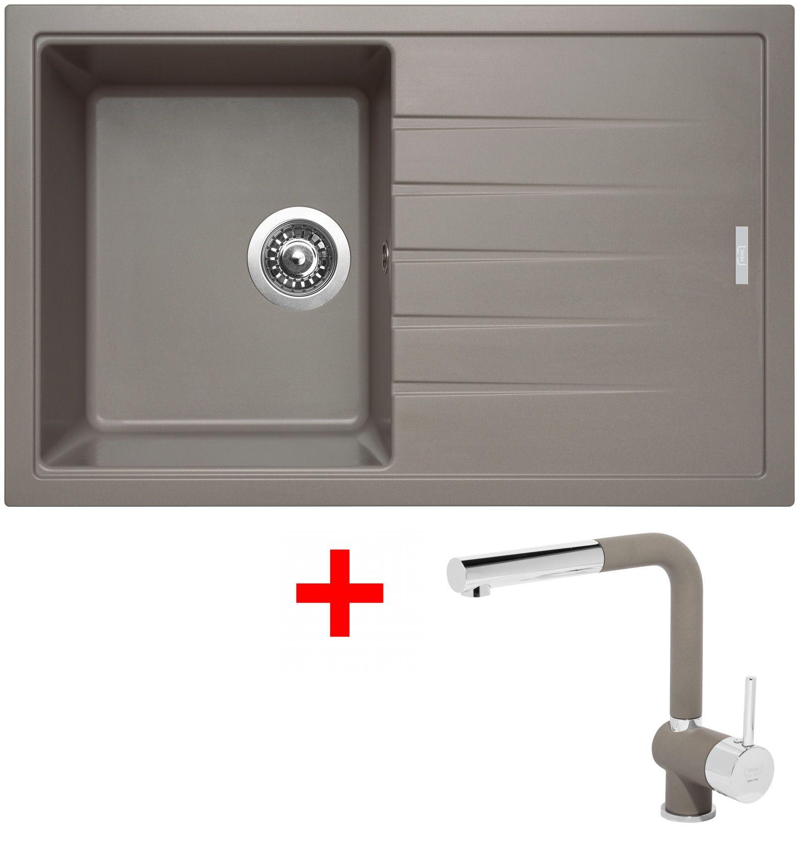 Set Sinks BEST 780 Truffle+MIX 3P GR